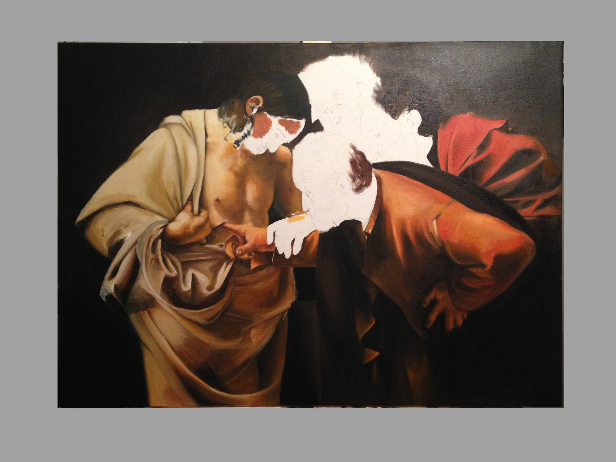 The Incredulity of Saint Thomas (Caravaggio) Timeline5