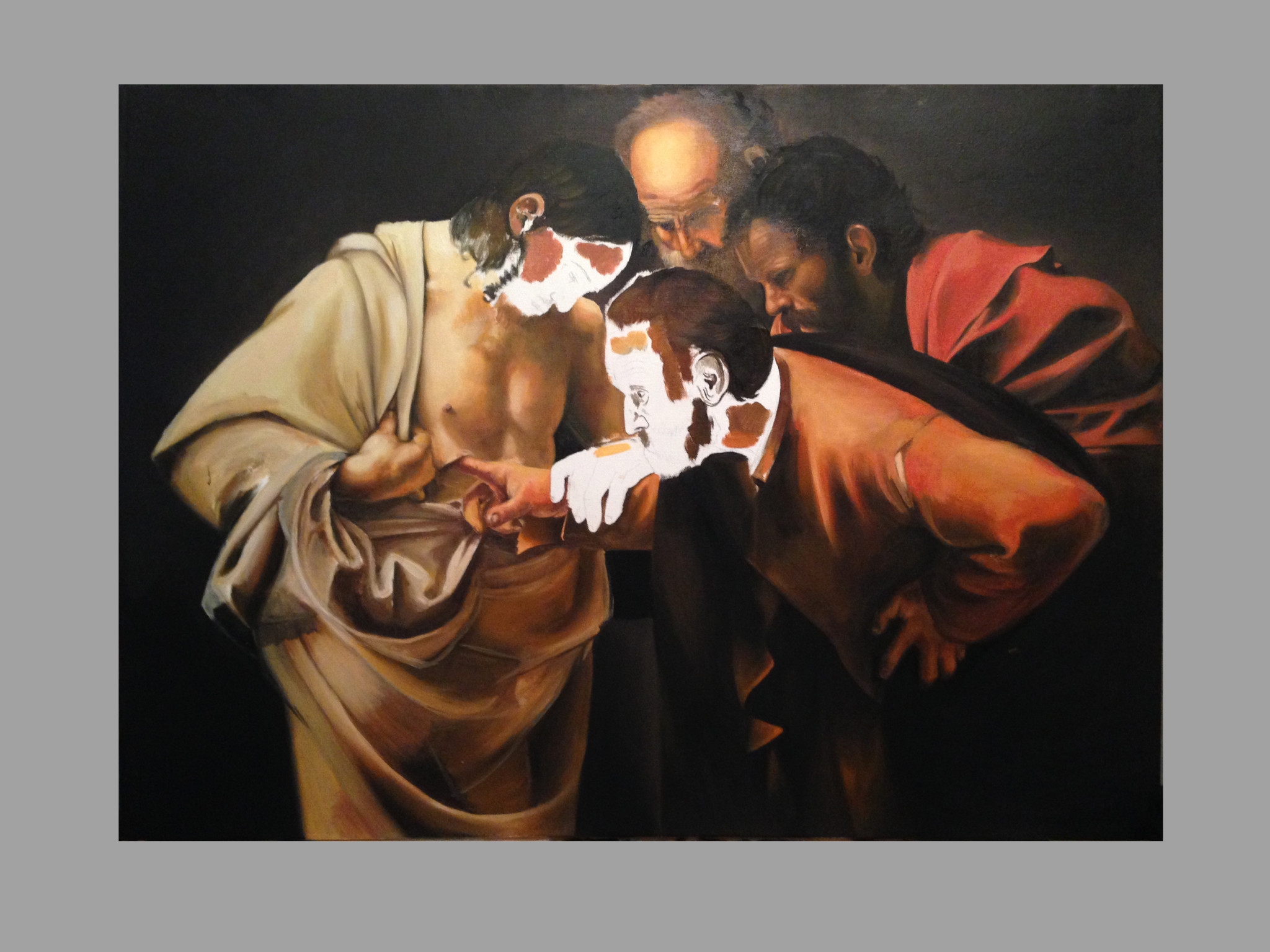 The Incredulity of Saint Thomas (Caravaggio) Timeline6