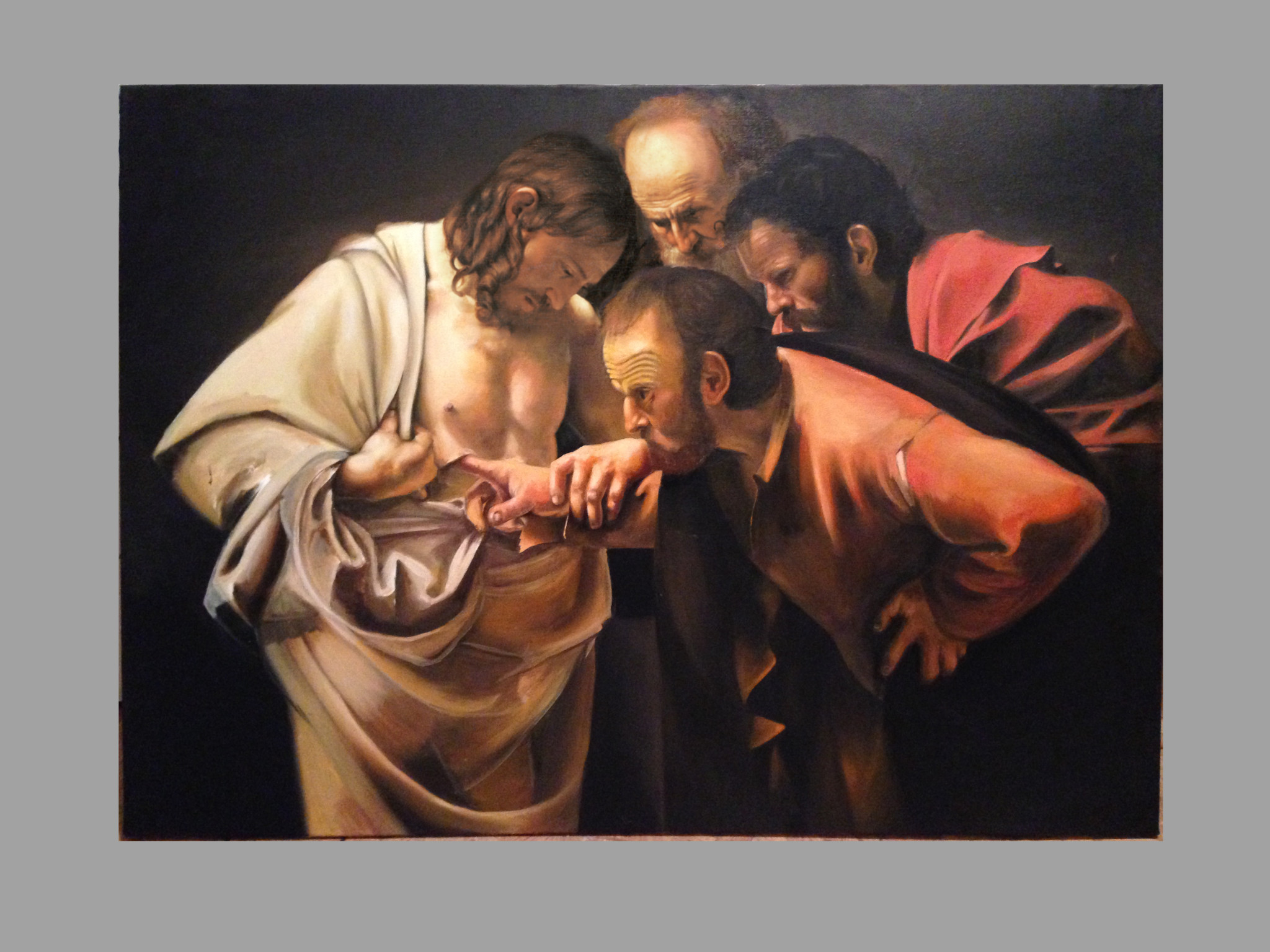 The Incredulity of Saint Thomas (Caravaggio) Timeline7